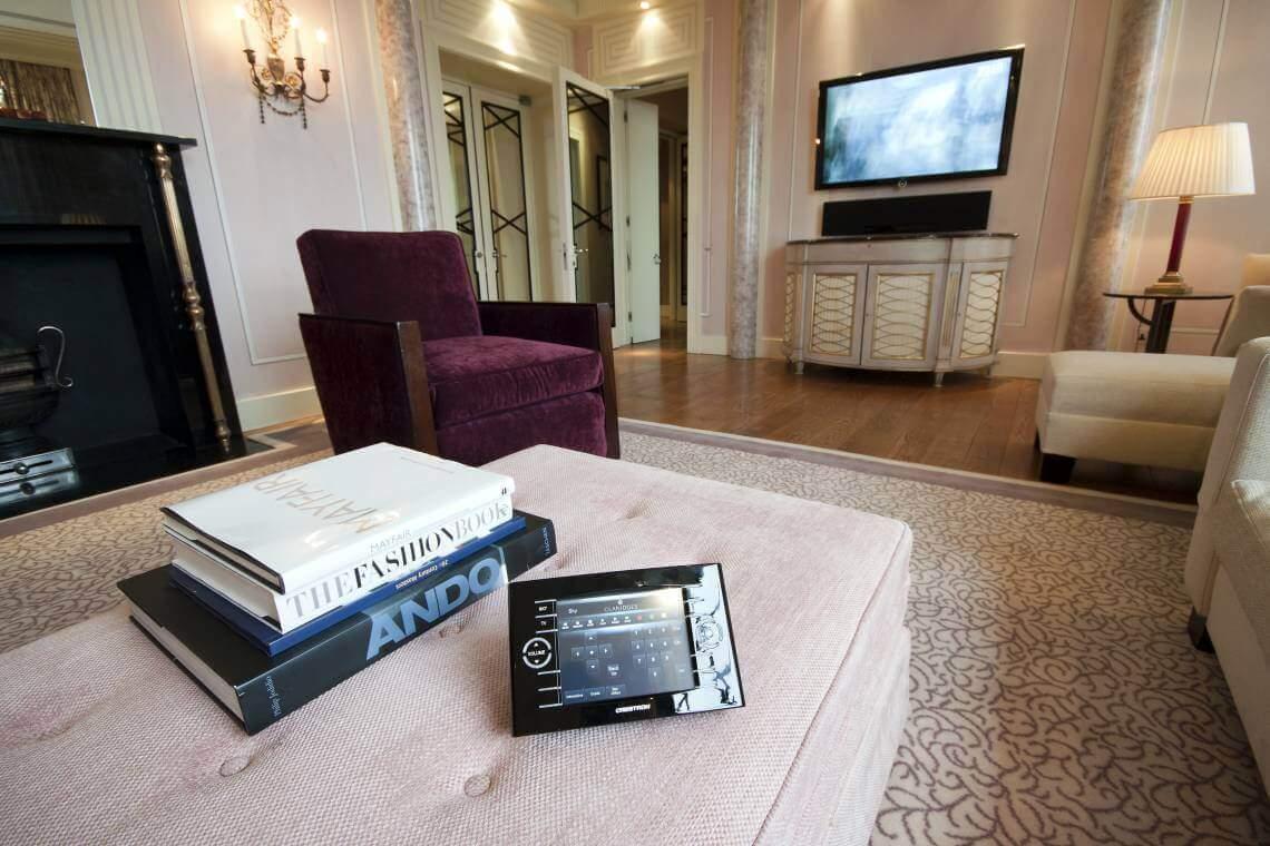 Claridge's Hotel Penthouse AV System