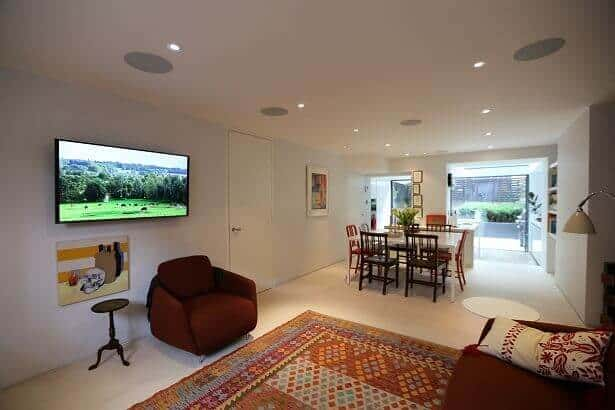Case Study: Multi-Room AV – Crestron Installation Primrose Hill, London