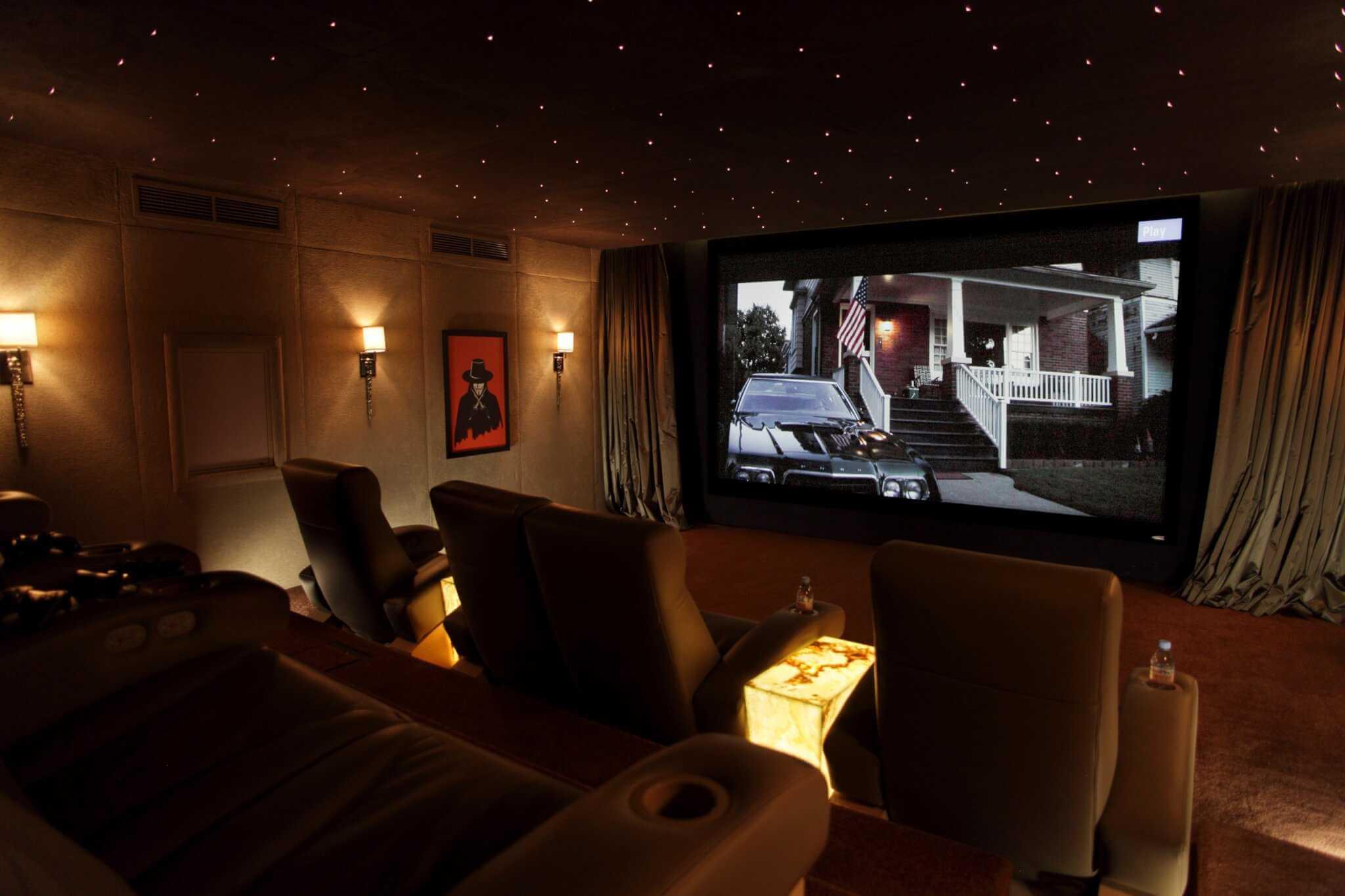 Dubai Home Cinema Installation