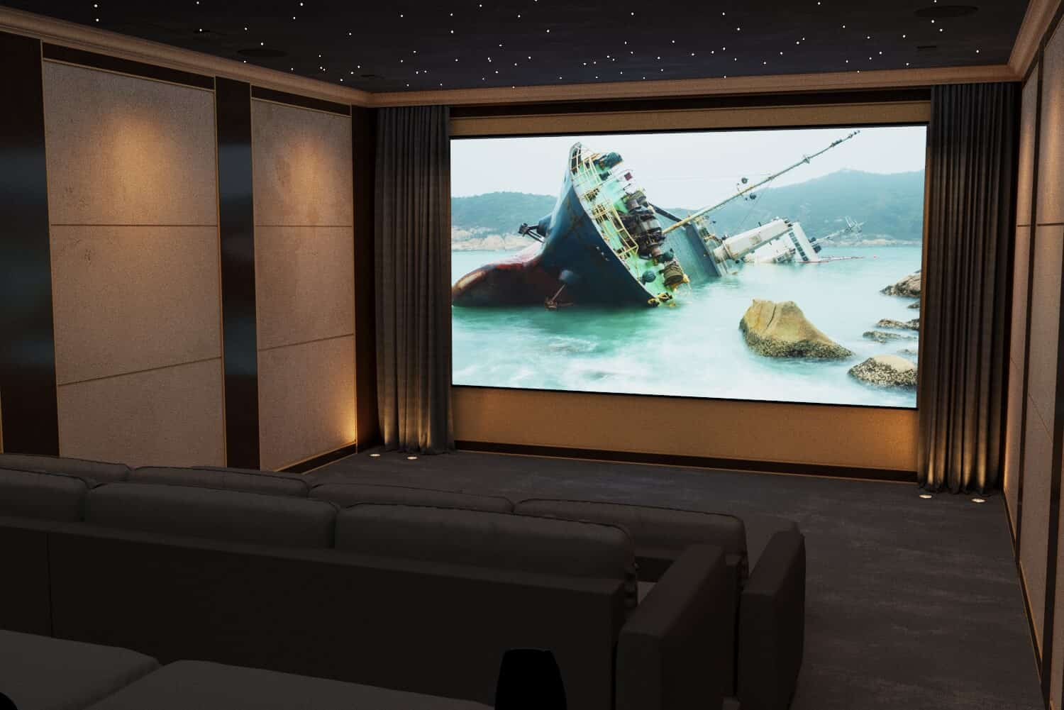 Home Cinema Room in Scotland
