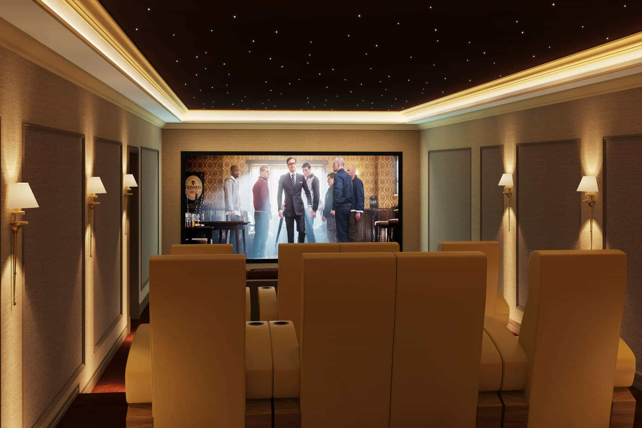 Trinnov Home Cinema Room in Africa