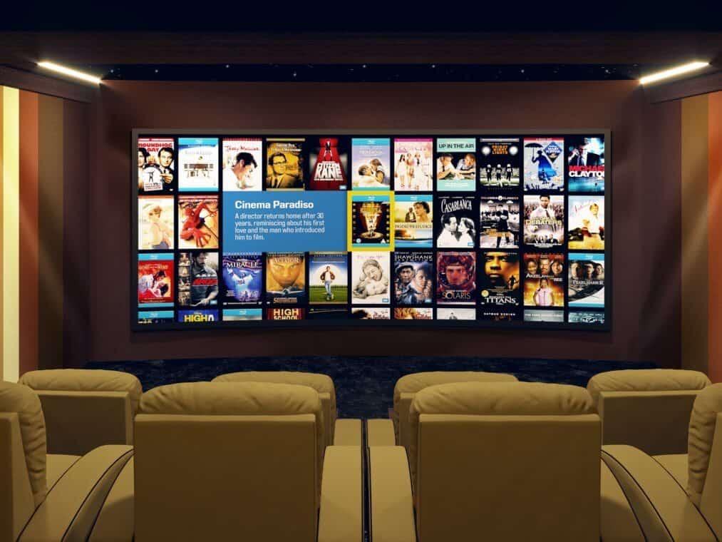 Home Theater Room Dubai
