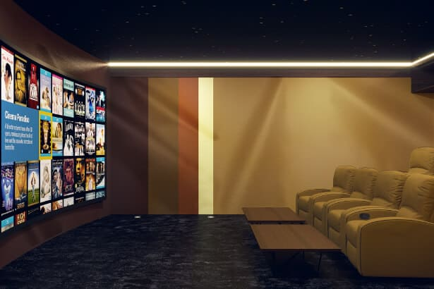 Home Theater Room in Dubai
