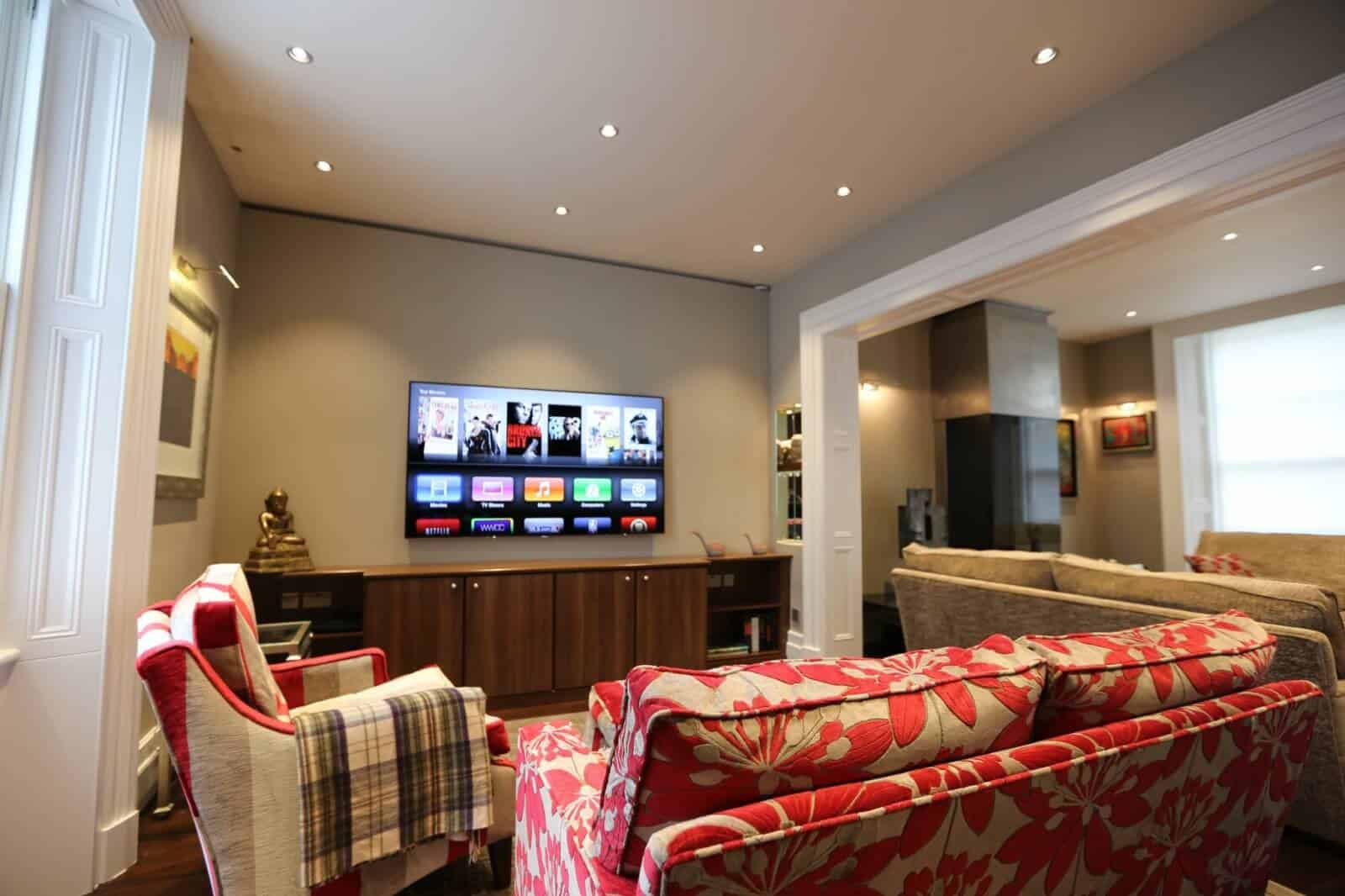 Living Room AV in Belgravia