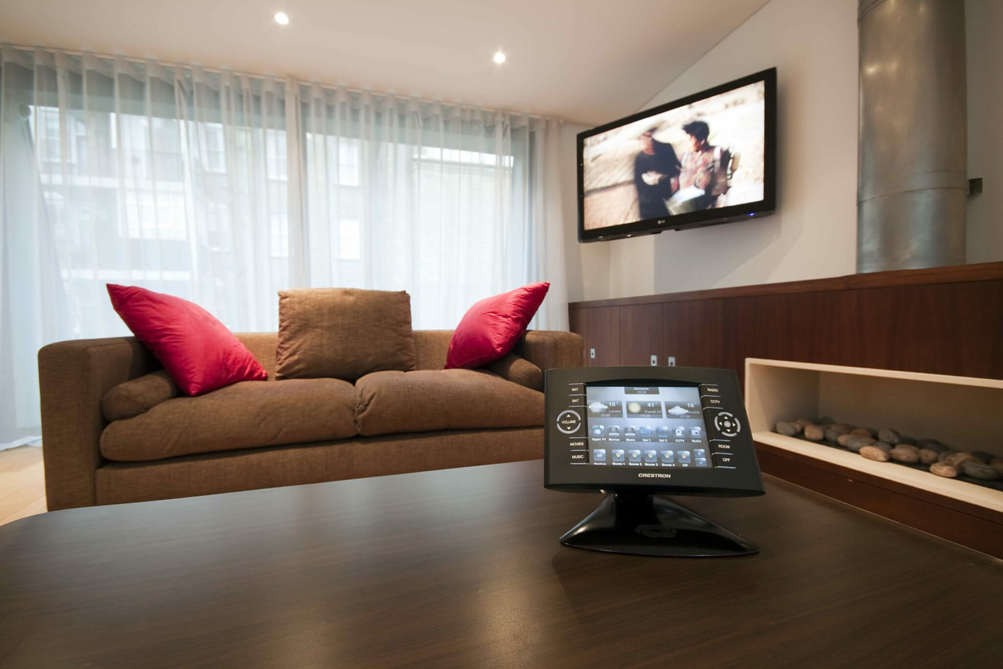 Crestron Control in Living Room, Baker St