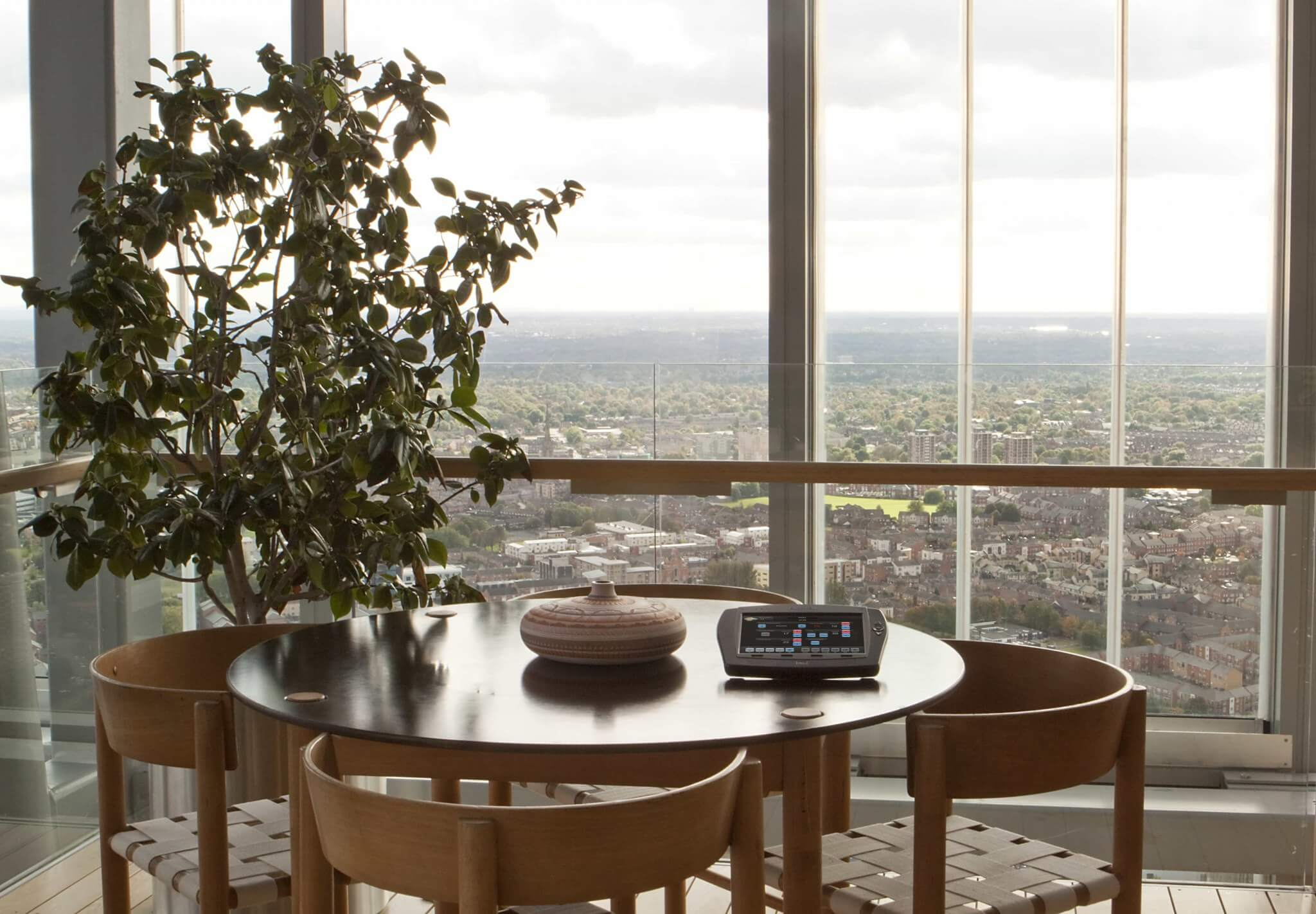 Crestron Control in Manchester Penthouse
