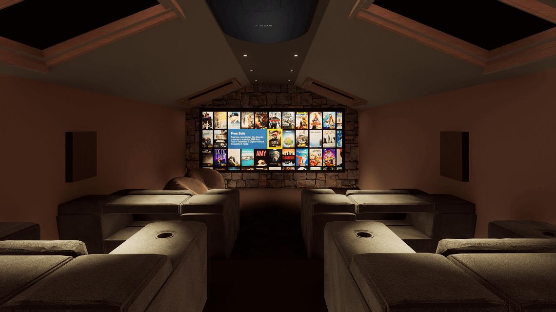Lake District Home Cinema Installation