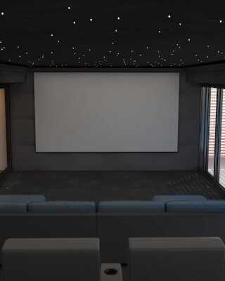 Cheshire Home Cinema Installation
