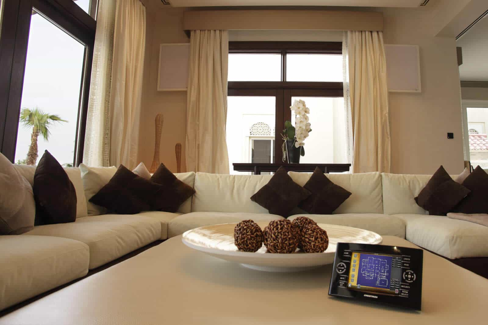 Crestron Controlled Living Room
