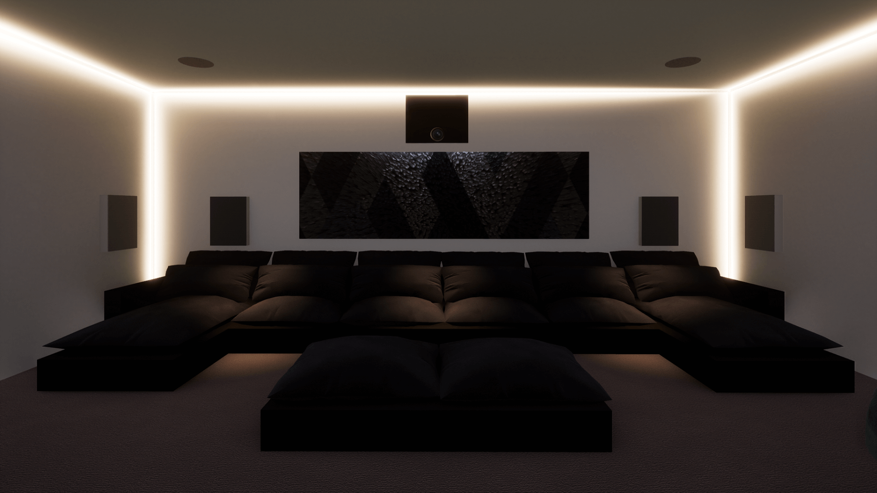 Garage Home Cinema - Hale, Cheshire