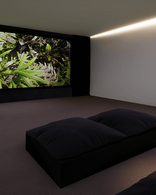 Garage Home Cinema Conversion