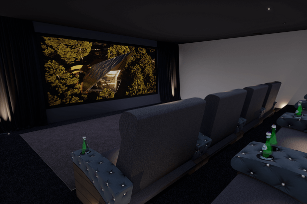 B&W Custom Theater 800 Cinema Room