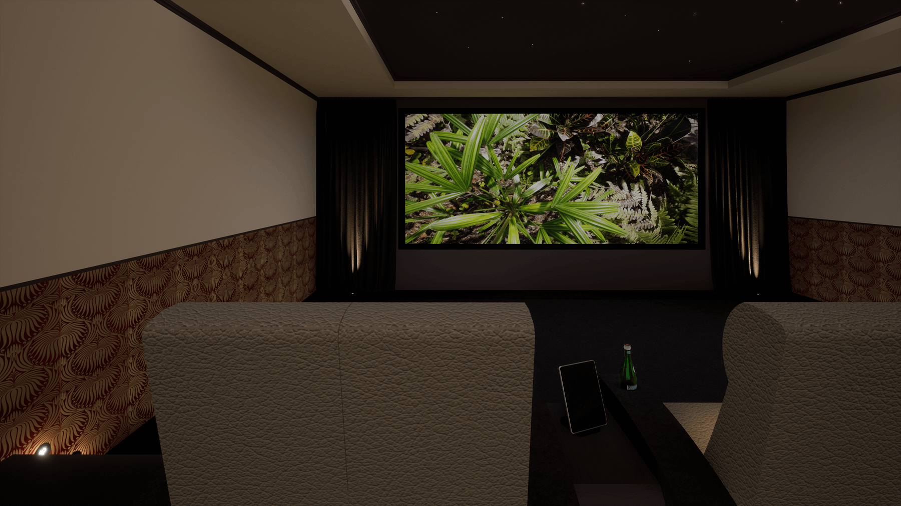 Hampstead Home Cinema Room