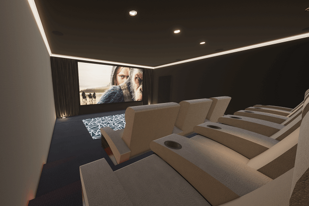 Case Study: Al Barari Home Cinema Room, Dubai