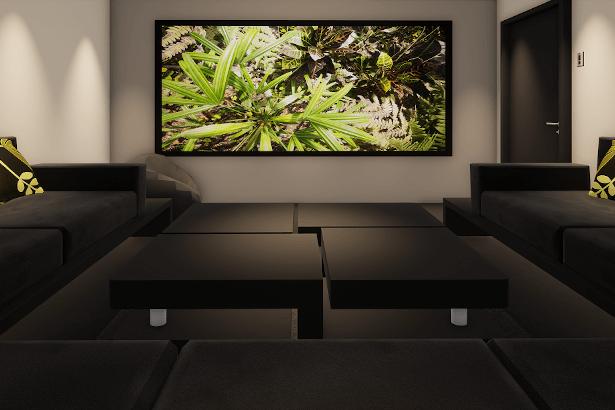 Small Home Cinema Room London