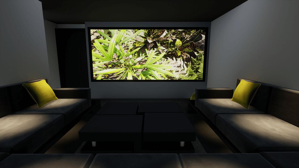 MIll Hill Home Cinema Room