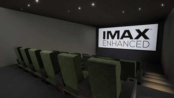 Case Study: IMAX Home Cinema Room in Dubai
