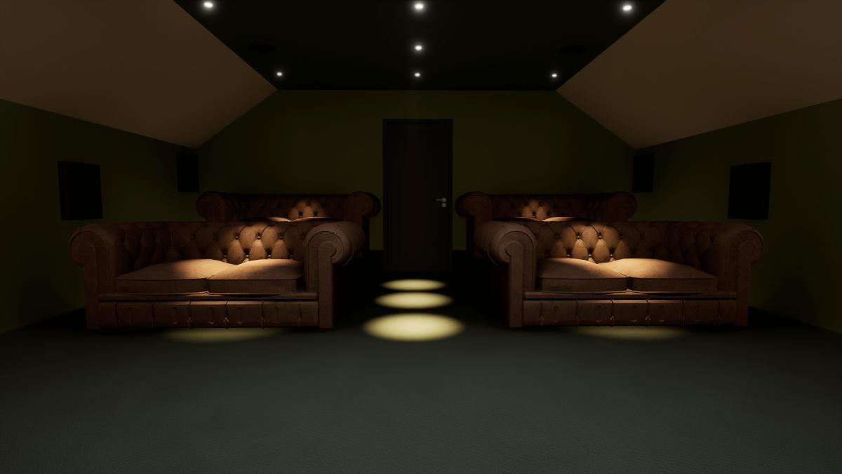 Home Cinema Hertfordshire Lights Dimmed