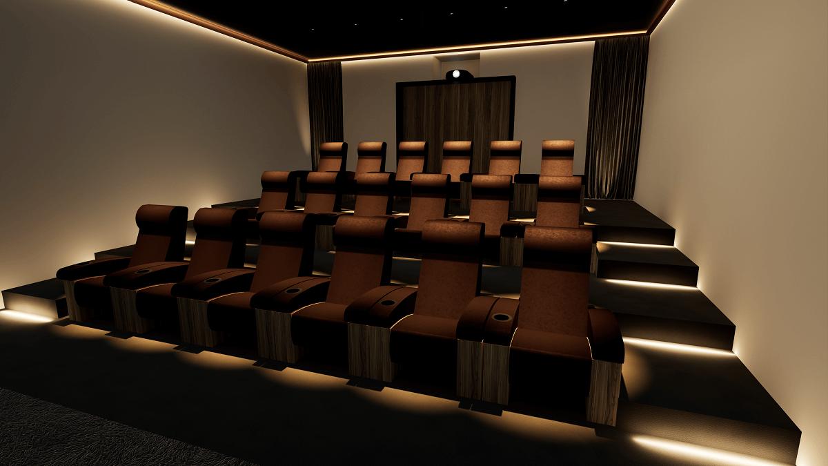 Krix Home Cinema London - Seating View