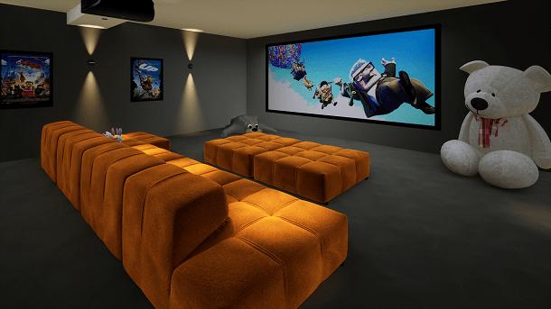 Family Cinema Room, Dubai