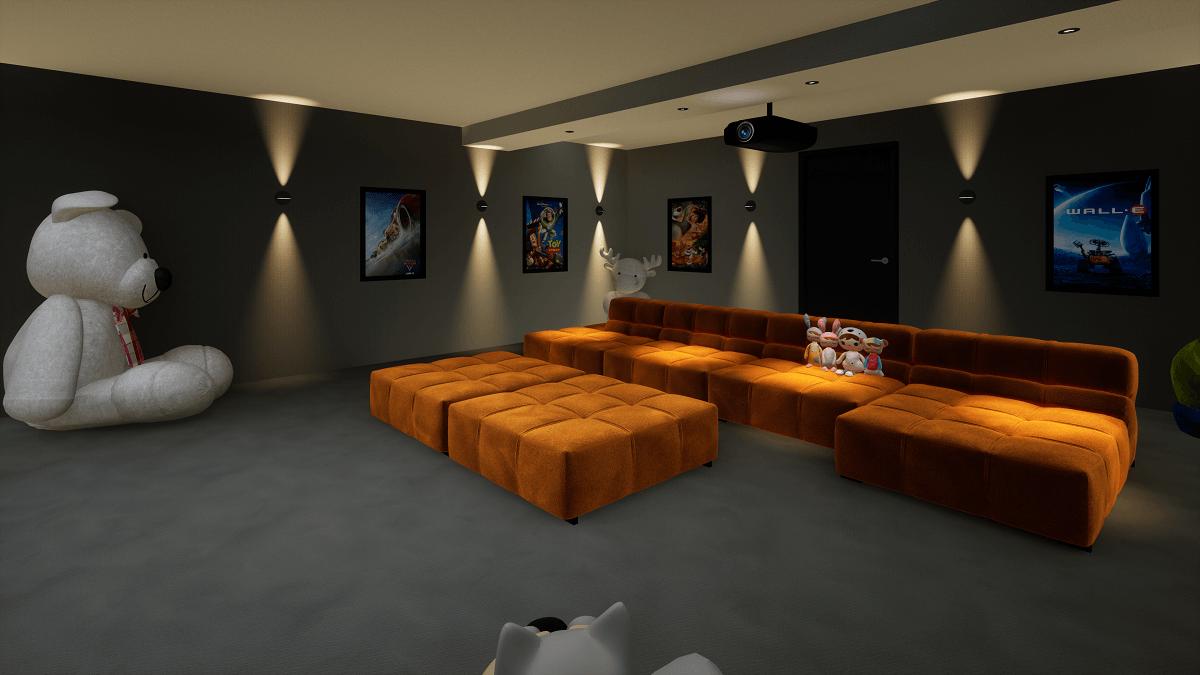 Family Movie Room - Dubai