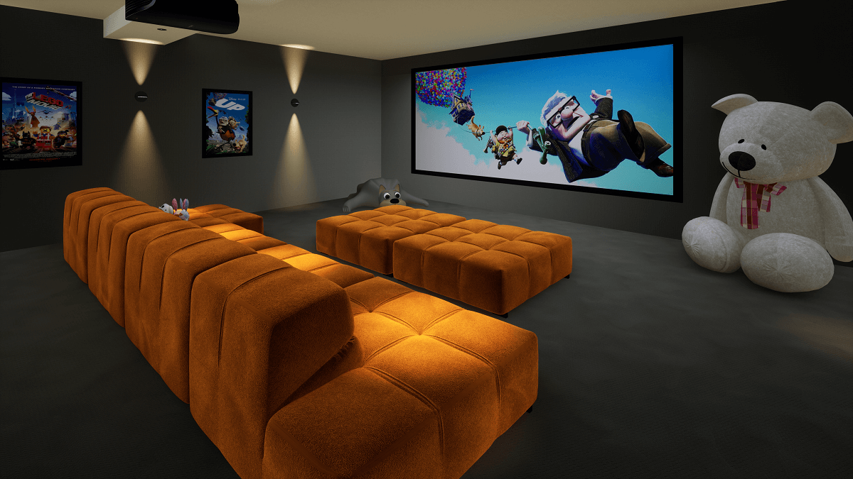 Family Home Cinema Room, Dubai