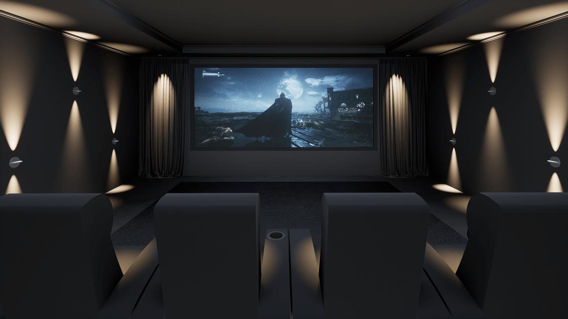 Batman Gaming Room