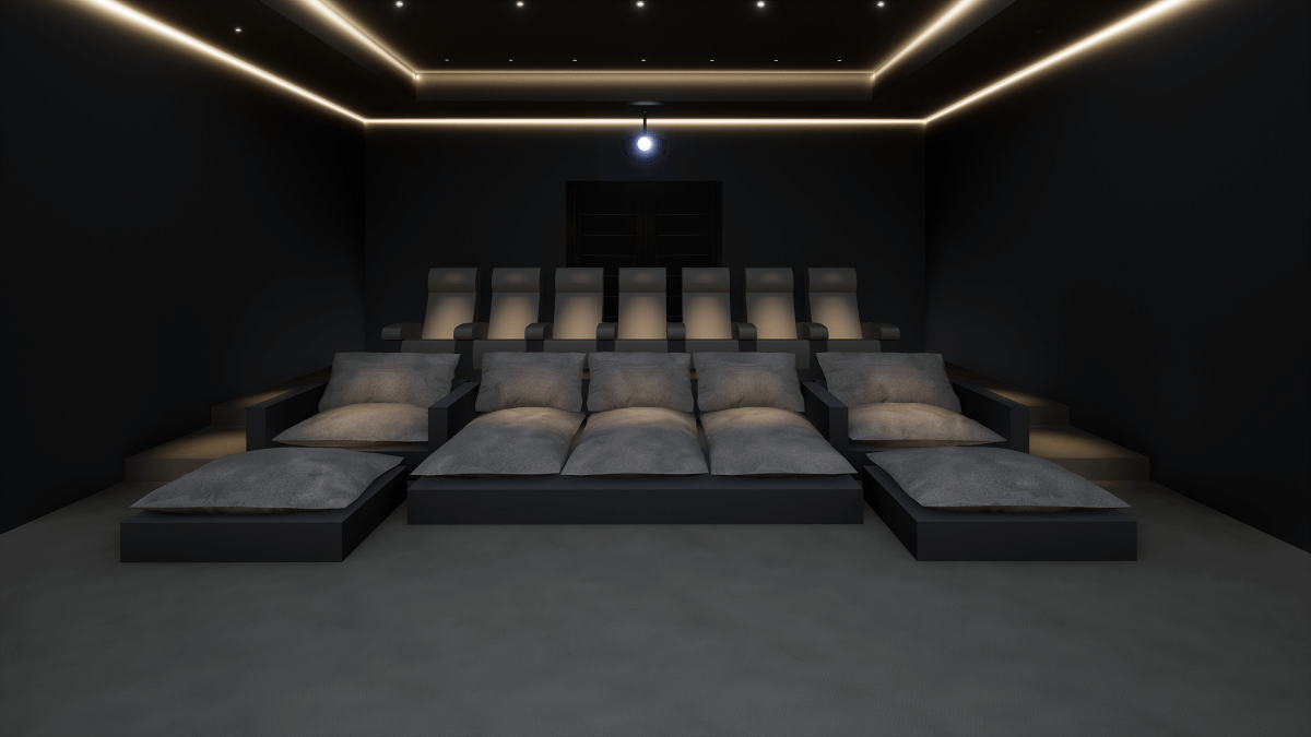 Luxury Home Cinema Seating