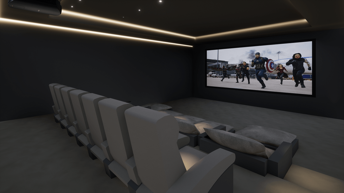 Luxury Home Cinema Room - Abuja, Nigeria