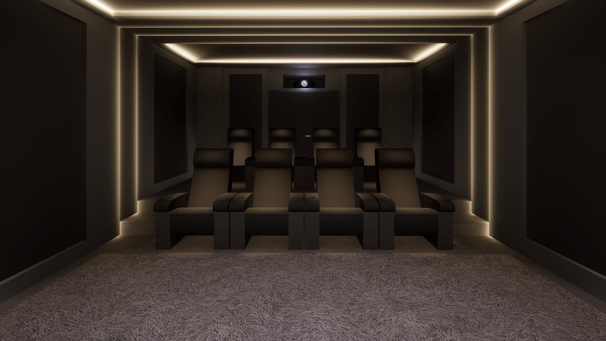 Bespoke Home Cinema Seating