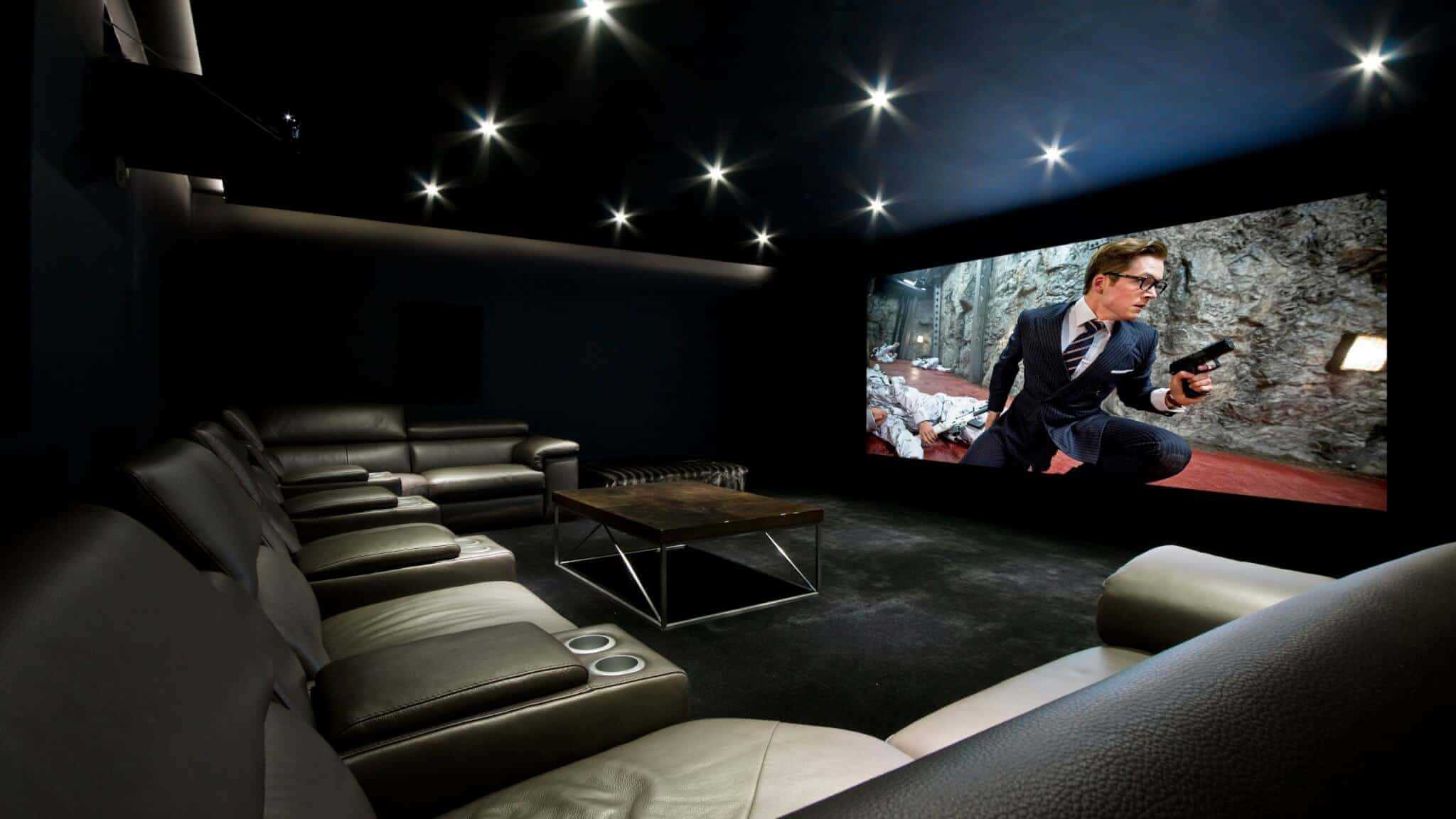 Derby Home Cinema Installation