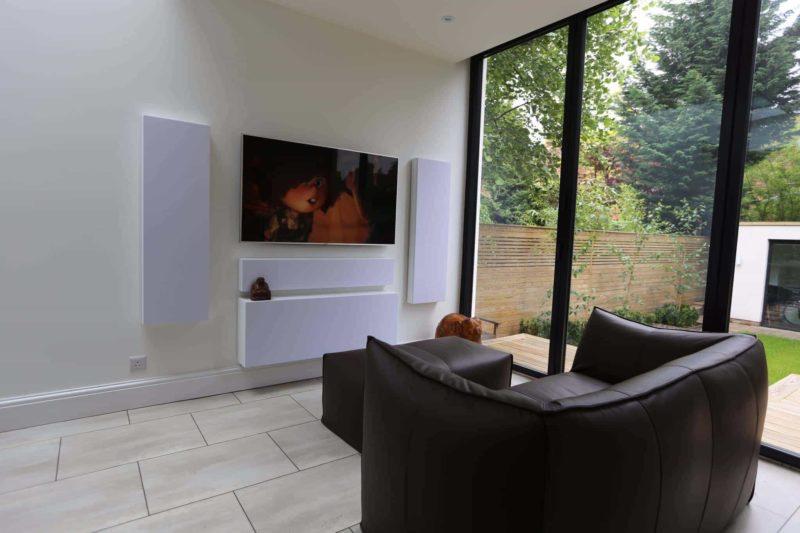 Kensington Home Cinema Installation 2 800x533 - Case Study: Modern Living Room Home Cinema Installation Kensington