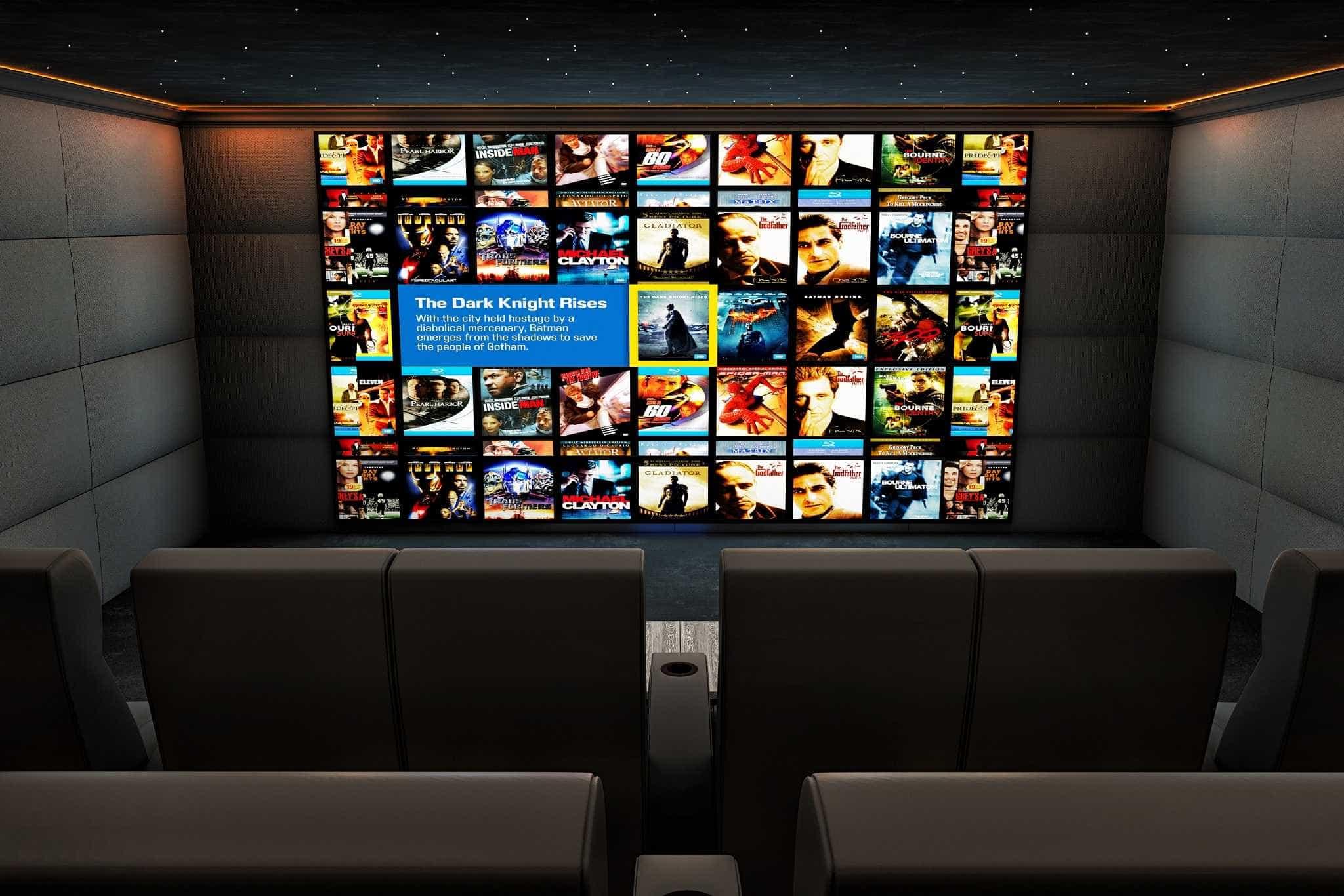 Ascot Home Cinema Installation