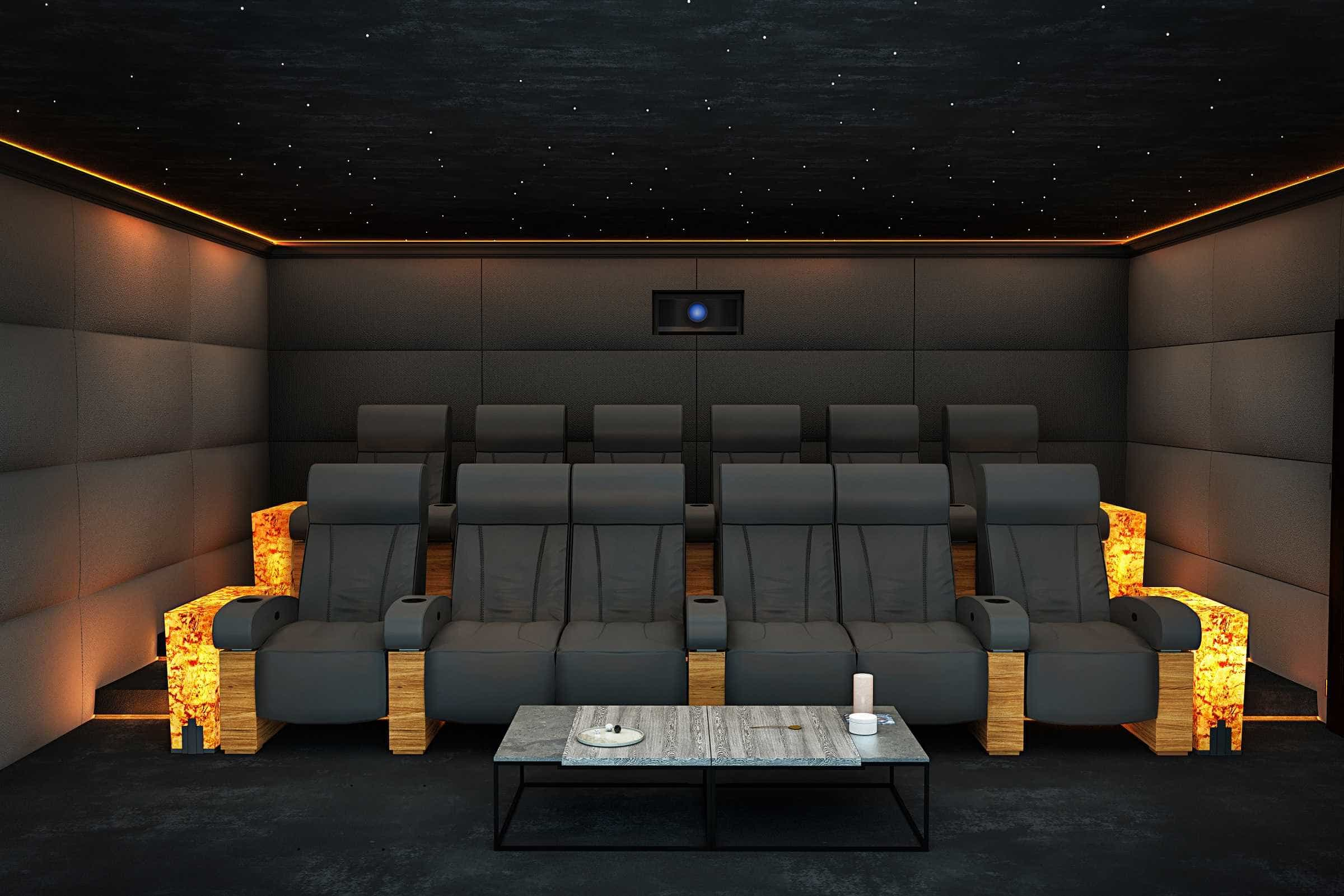 Ascot Home Cinema Installation