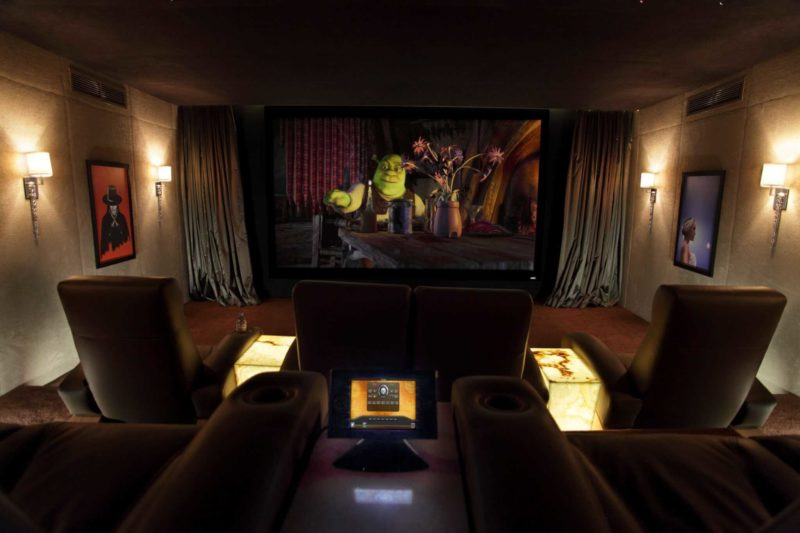Dubai Home Cinema Installation 2 800x533 - Case Study: High End Home Cinema Installation Dubai - Stunning Cinema!