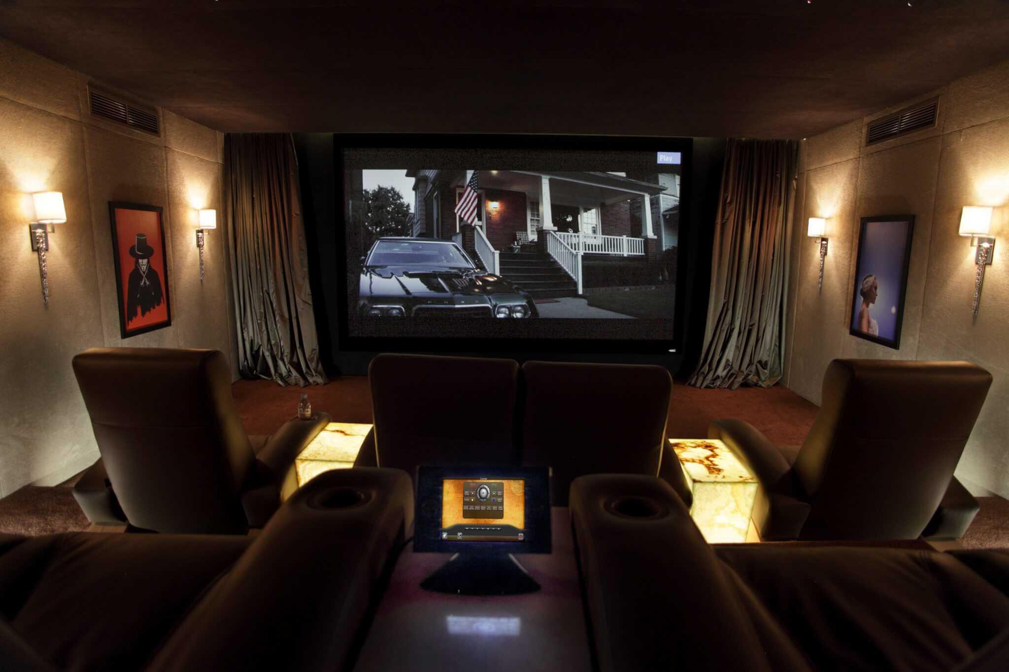 Dubai Home Cinema - Showing Seating
