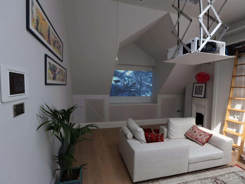 Attic Home Cinema Installation London