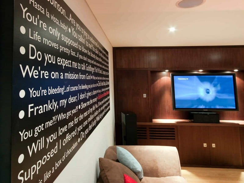 Basement Home Cinema Installation London