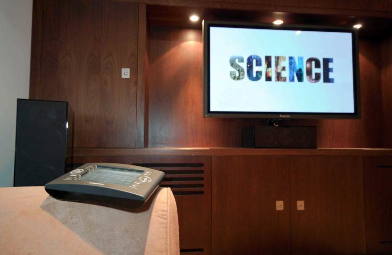 Basement Home Cinema Installation 2 800x521 - Case Study: Basement Home Cinema Installation Baker St, London
