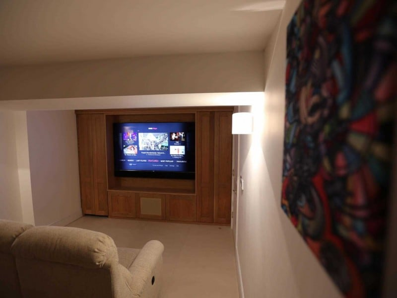 Pimlico Basement Home Cinema Installation